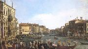 A Regatta on the Grand Canal (mk25) Canaletto