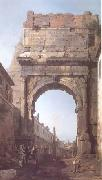 The Arch of Titus (mk25) Canaletto