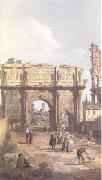 Rome The Arch of Constantine (mk25) Canaletto