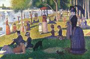 A Sunday on La Grande jatte (mk39) Georges Seurat