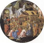 filippo lippi,Adoration of the Magi (mk36) Sandro Botticelli