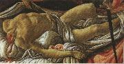 Discovery of the Body of Holofernes (mk36) Sandro Botticelli