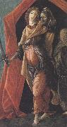 Judith with the Head of Holofernes (mk36) Sandro Botticelli