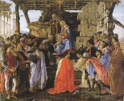 Adoration of the Magi (mk36) Botticelli