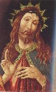 Ecco Homo or The Redeemer (mk39) Sandro Botticelli