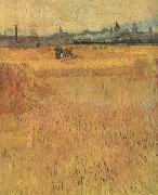 Arles:Vew from the Wheat Fields (nn04) Vincent Van Gogh