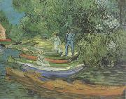 Bank of the Oise at Auvers (nn04) Vincent Van Gogh