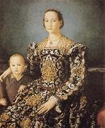 Eleonora of Toledo and her Son Giovanni Agnolo Bronzino