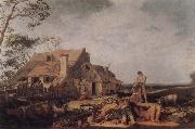 Landscape with Peasants Resting BLOEMAERT, Abraham