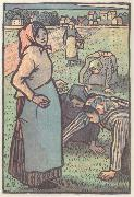 Weeder from Work in the field Camille Pissarro