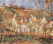 Red Roofs Camille Pissarro