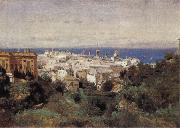 View of Genoa Corot Camille