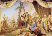 Rachel Hiding the Idols from her Father Laban Giovanni Battista Tiepolo