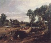 Boat-building near Flatford Mill John Constable
