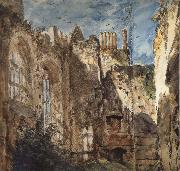 Cowdray House:The Ruins 14 Septembr 1834 John Constable
