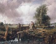 A voat passing a lock John Constable