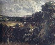 Dedham from near Gun Hill,Langham John Constable