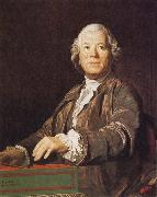 Portrait of Christoph Willibald Gluck Joseph Siffred Duplessis