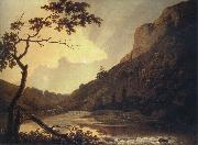 Matlock Tor by Daylight mid Joseph wright of derby