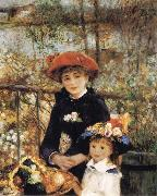 On the Terrace renoir
