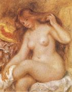 Bather with Long Blonde renoir