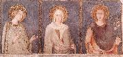 St Elisabeth, St Margaret and Henry of Hungary Simone Martini