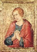 St John the Evangelist Simone Martini