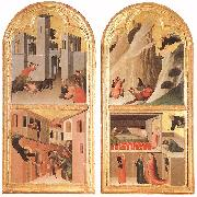 Blessed Agostino Novello Altarpiece Simone Martini