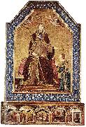 Altar of St Louis of Toulouse Simone Martini