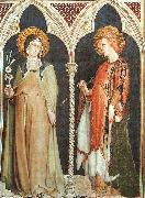 St Clare and St Elizabeth of Hungary Simone Martini