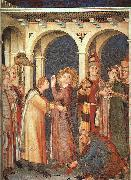 St. Martin is Knighted Simone Martini