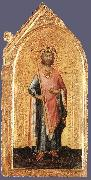 St Ladislaus, King of Hungary Simone Martini