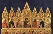 Madonna with Child and Saints Simone Martini