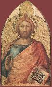 Blessing Christ Simone Martini