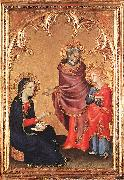 Christ Returning to his Parents Simone Martini