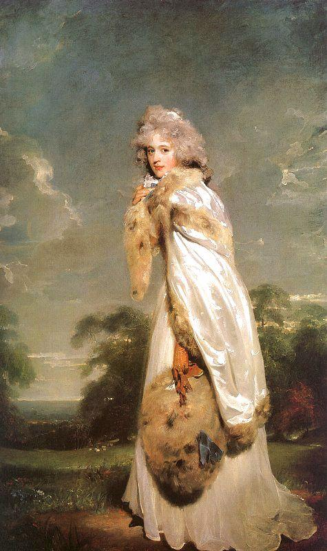 Sir Thomas Lawrence Elisabeth Farren, Later Countess of Derby