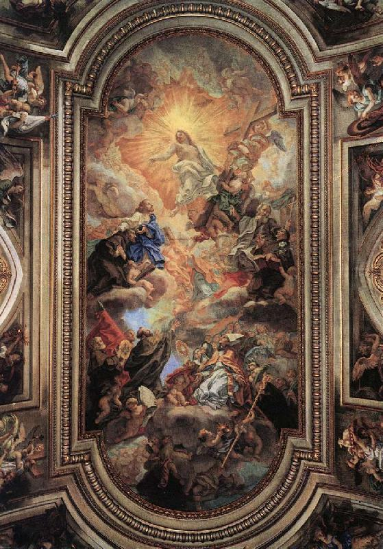 BACCHIACCA Apotheosis of the Franciscan Order  ff