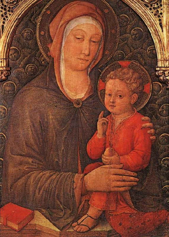 BELLINI, Jacopo Madonna and Child Blessing