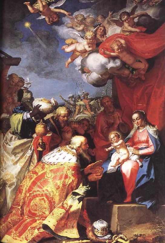 BLOEMAERT, Abraham Adoration of the Magi d