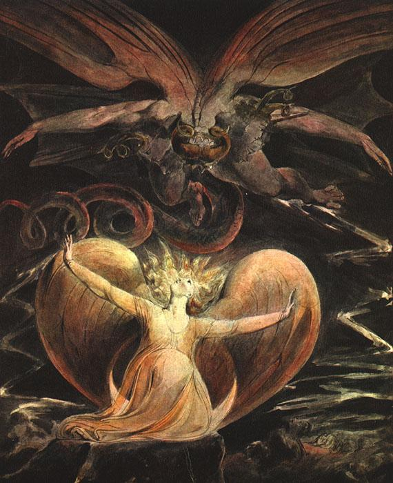 Blake, William The Great Red Dragon and the Woman Clothed with the Sun
