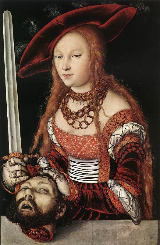 CRANACH, Lucas the Elder Judith with the Head of Holofernes dfg