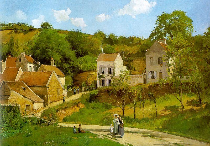 Camille Pissaro The Hermitage at Pontoise