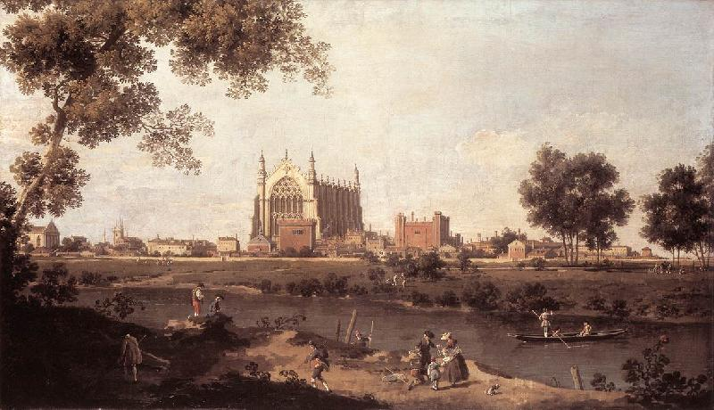 Canaletto Eton College Chapel f