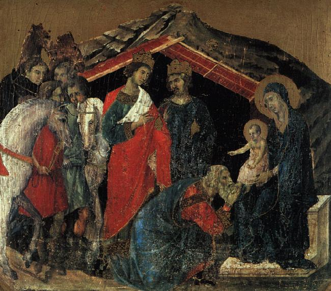 Duccio di Buoninsegna The Maesta Altarpiece