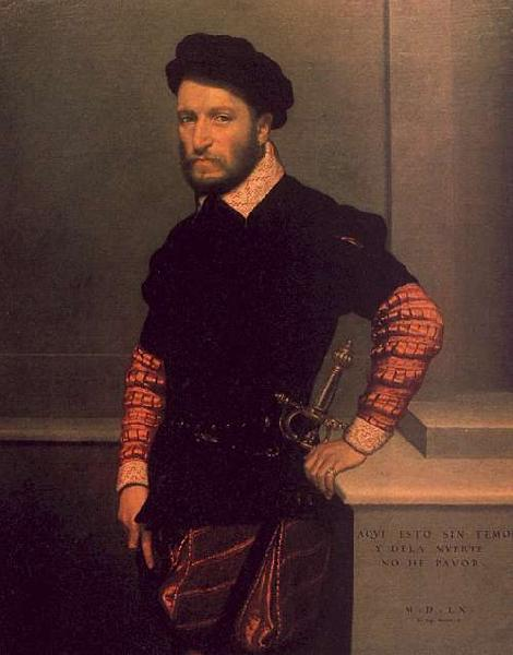 Giovanni Battista Moroni Portrait of the Duke of Albuquerque