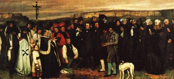 Gustave Courbet A Burial at Ornans