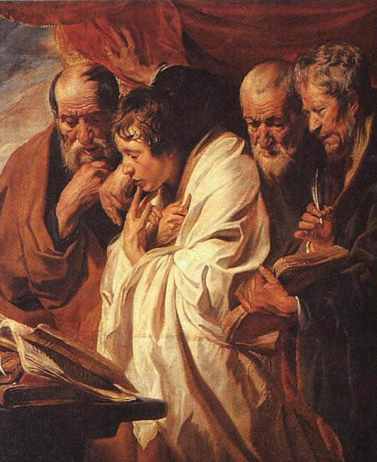 Jacob Jordaens The Four Evangelists