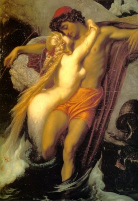 Lord Frederic Leighton The Fisherman and the Siren