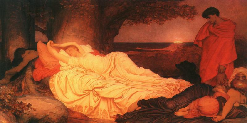 Lord Frederic Leighton Cymon and Iphigenia