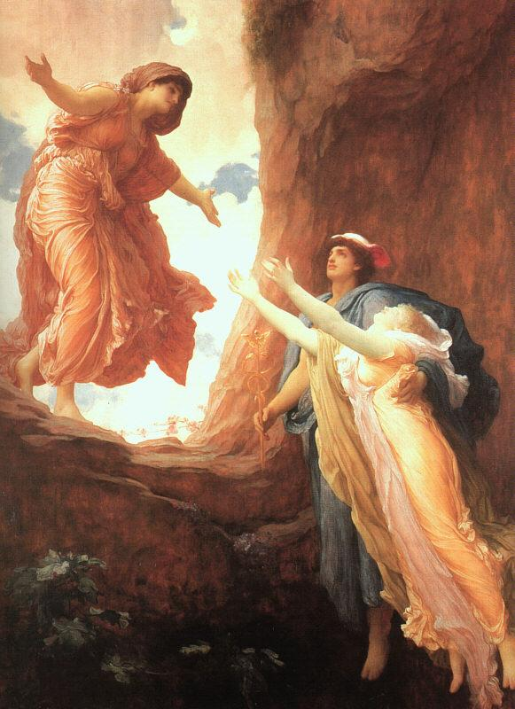 Lord Frederic Leighton The Return of Persephone